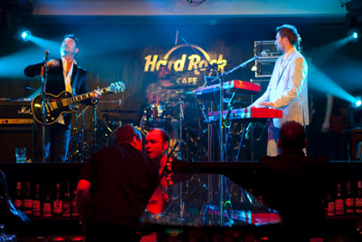 Koncert v Hard Rock Cafe Prague