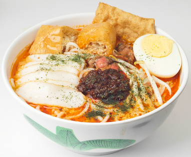 Malajská Curry Laksa