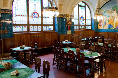 Pilsner Restaurant in Municipal House