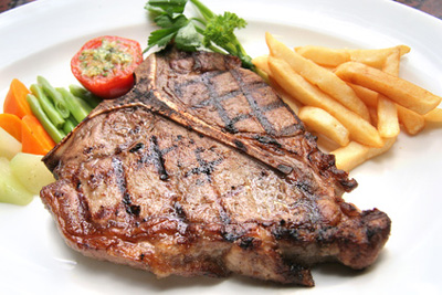 Grilovaný T-Bone steak